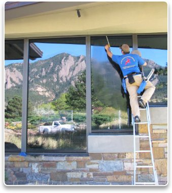 commercial window washing boulder